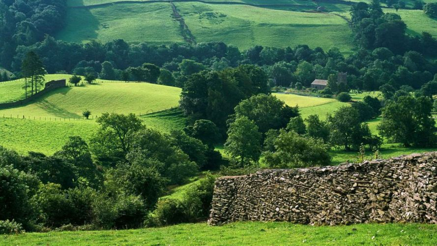 England hills District wallpaper