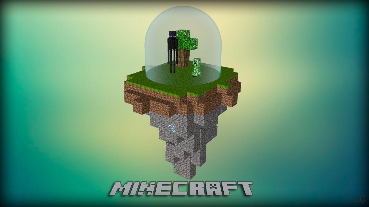 Video Games Creeper Minecraft Cinema D Enderman Photomanipulation - Minecraft enderman spiele