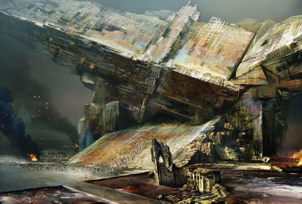 fantasy art science fiction artwork wallpaper