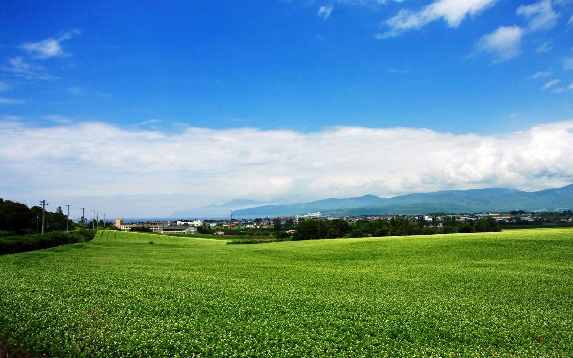 Japan landscapes Hokkaido wallpaper