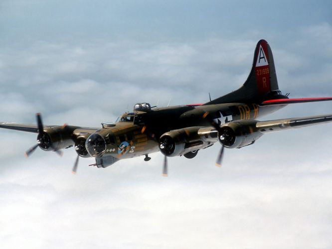 airplanes Bomber B-17 Flying Fortress wallpaper