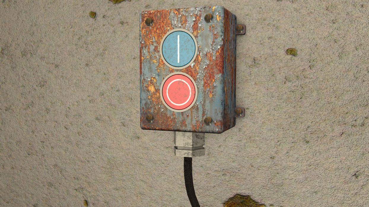 Industrial buttons wallpaper