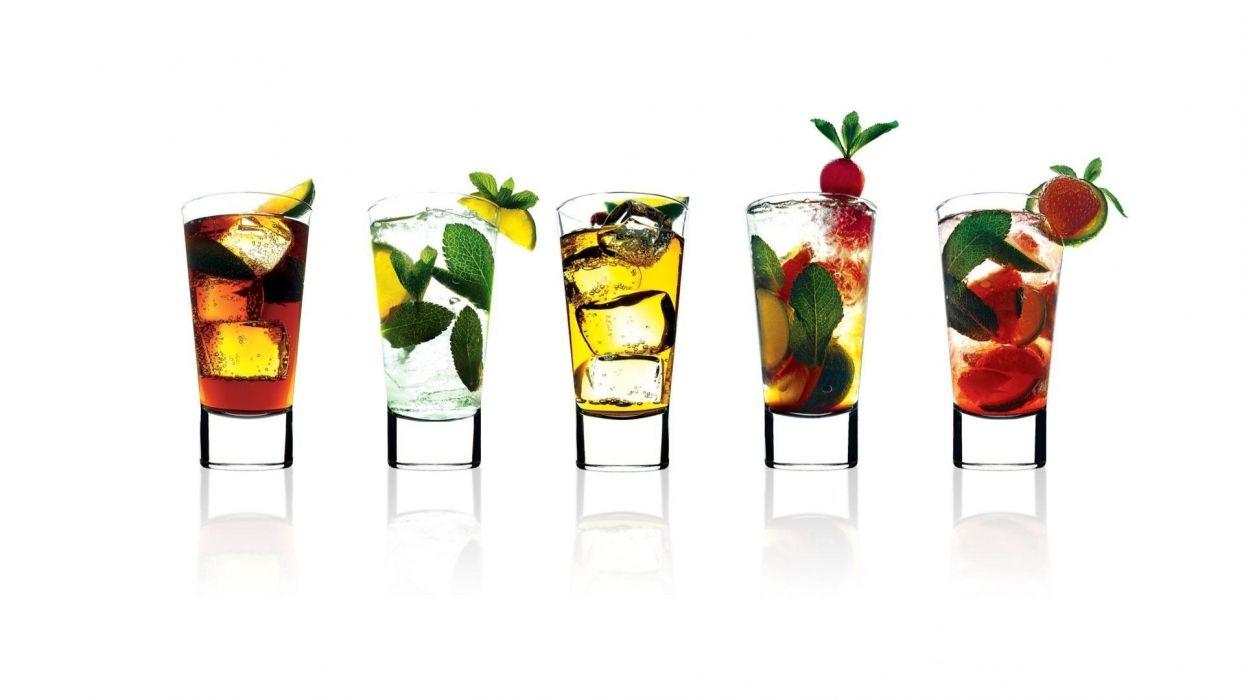 Alcohol White Glasses wallpaper
