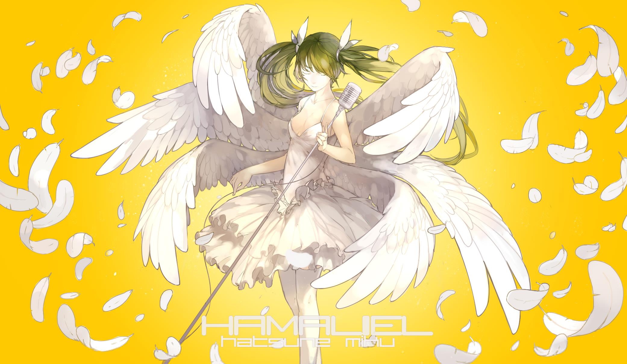 hatsune miku angel wallpapers - photo #17