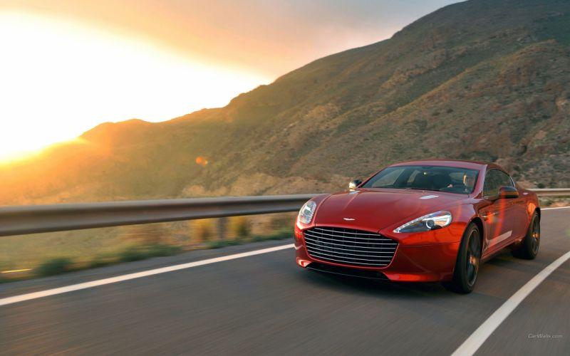 Aston Martin Rapide-S Sunset wallpaper