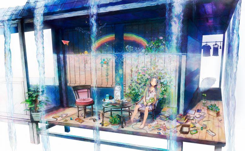 barefoot book drink flowers food neyagi original rainbow skirt sleeping umbrella water wallpaper