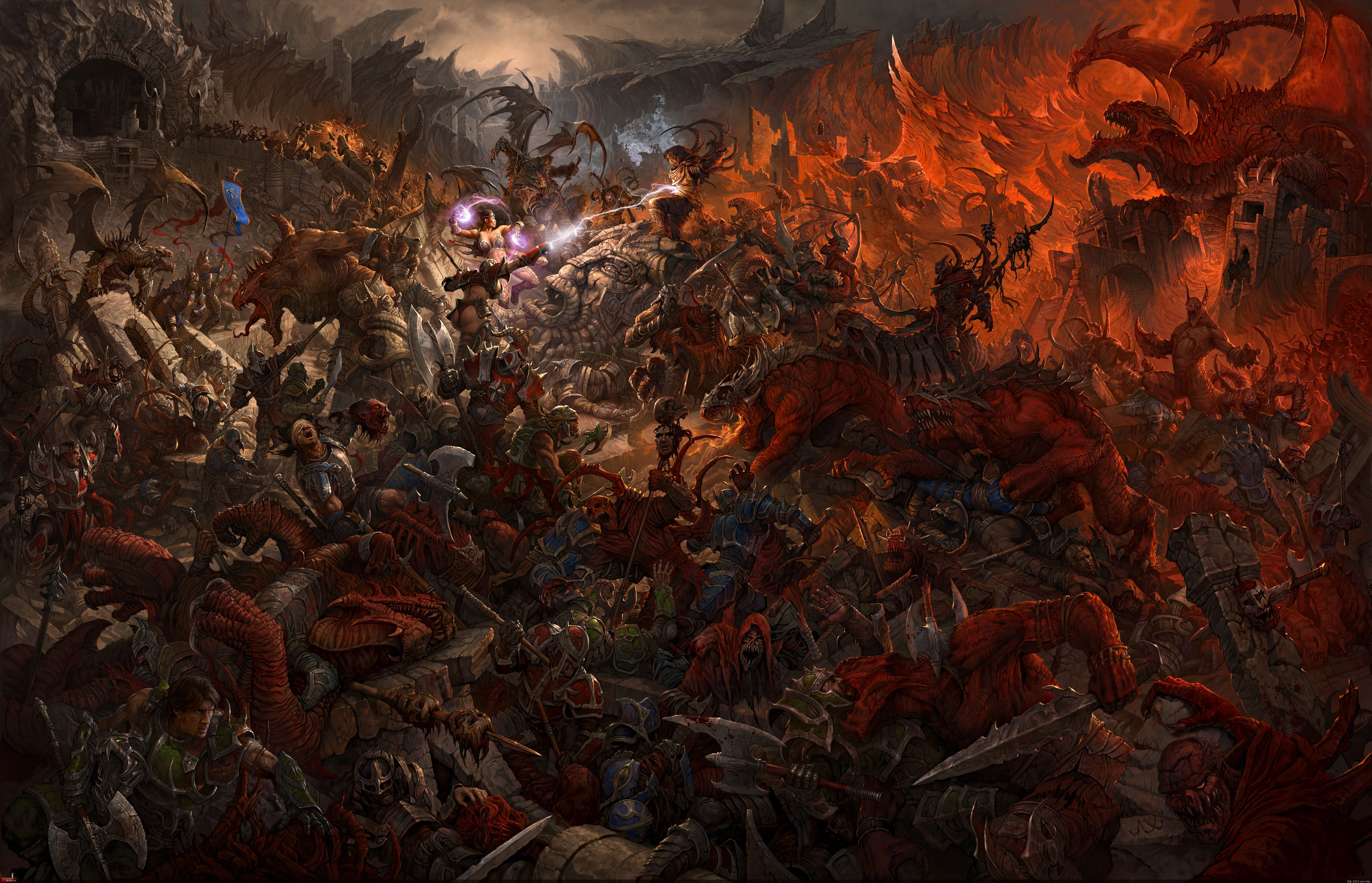 Epic Fantasy War Wallpapers