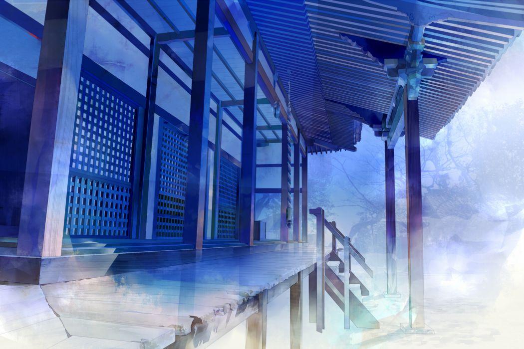 building original saiga tokihito scenic wallpaper