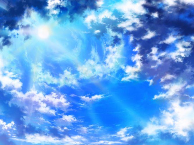 clouds iy tujiki original scenic sky wallpaper
