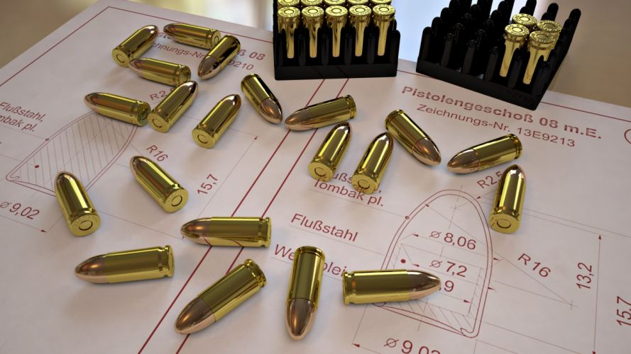Bullets Ammunition weapons wallpaper