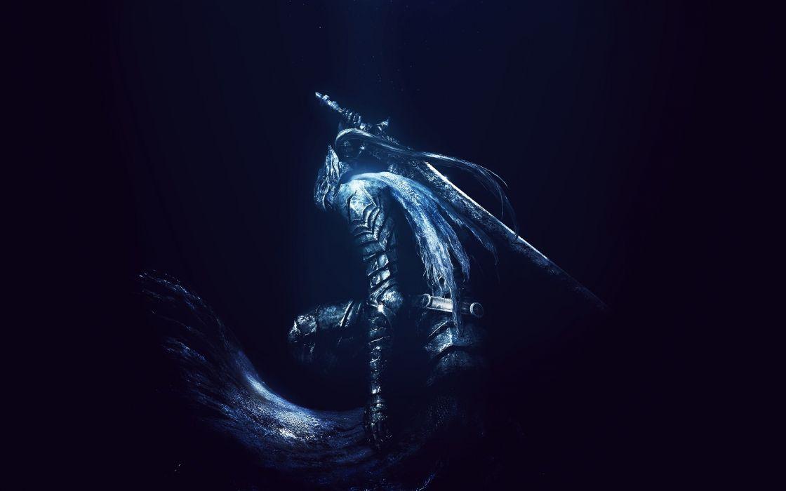 Dark Souls fantasy dark wallpaper