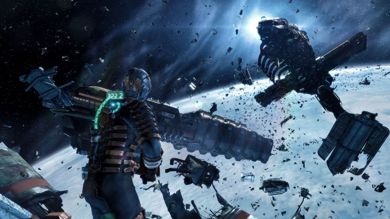 Dead Space 3 Warriors Disasters Armor sci-fi wallpaper