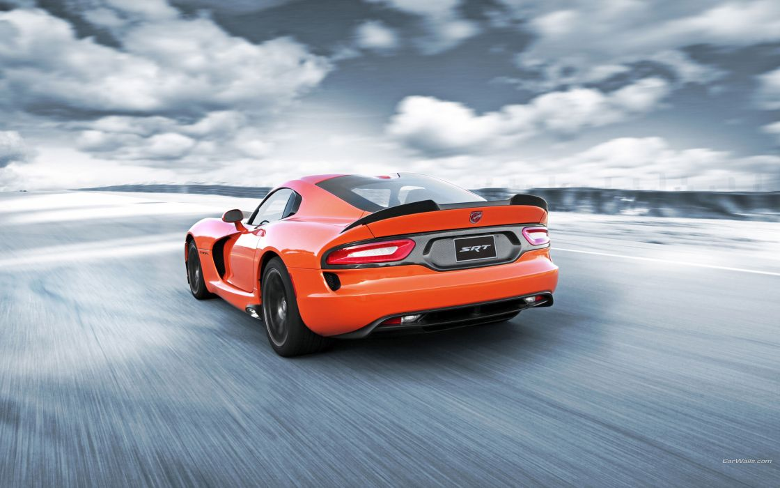 Dodge Viper SRT-10 Orange      r wallpaper