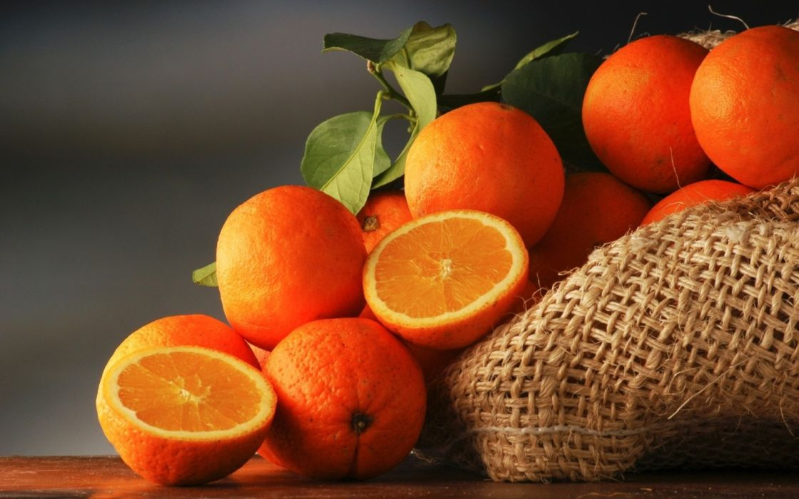 fruit oranges wallpaper