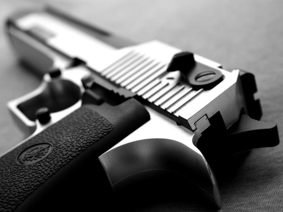 Handgun BW Macro Desert Eagle weapons pistol guns wallpaper