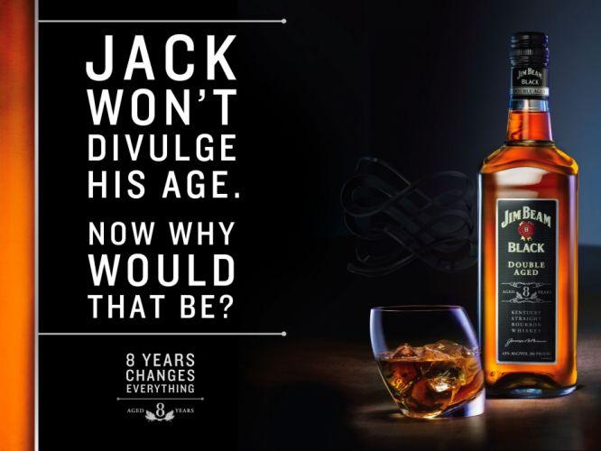 Jim Beam Whiskey Alcohol Bottle wallpaper