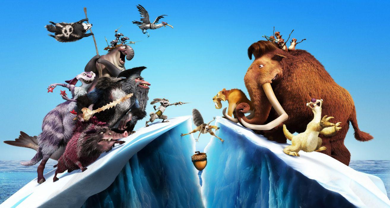 Ice Age cartoons movie wallpaper