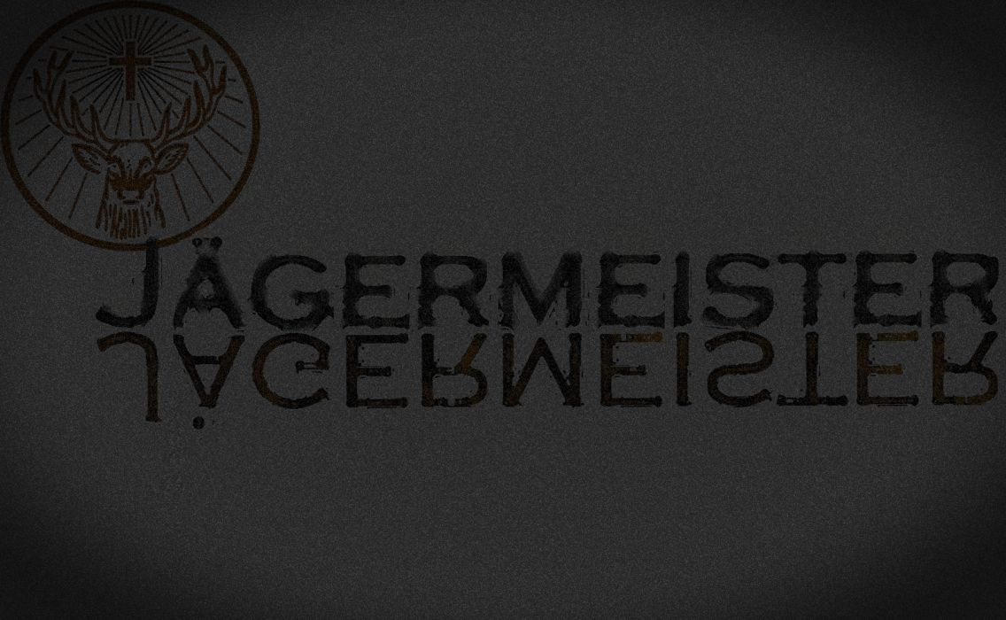 Jagermeister Alcohol Grey Gray wallpaper