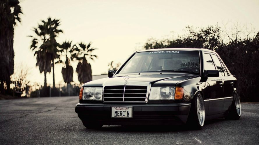 Mercedes Benz tuning wallpaper