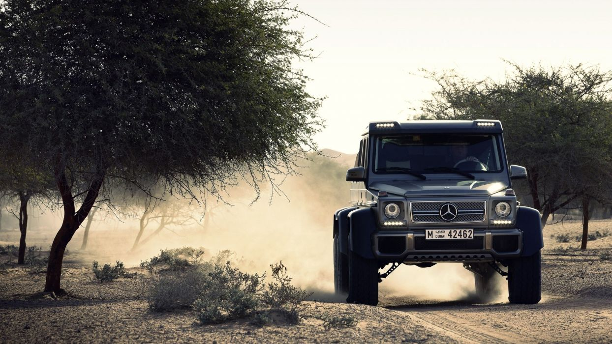 Mercedes G63 AMG Off Road wallpaper