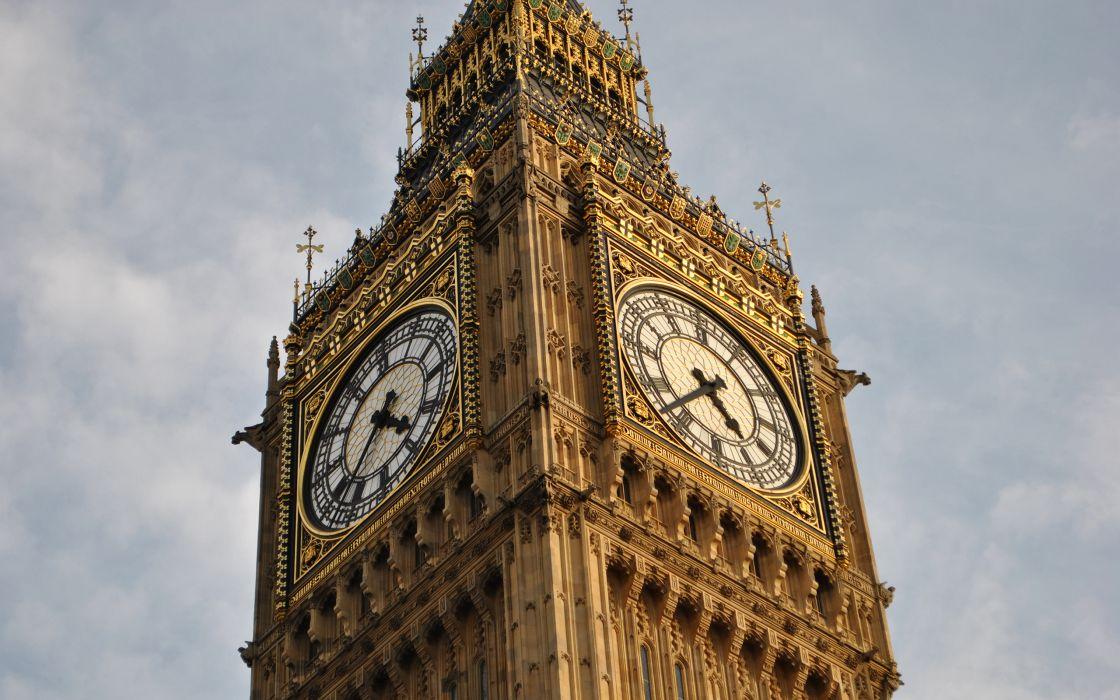 London Big Ben Clock Tower wallpaper