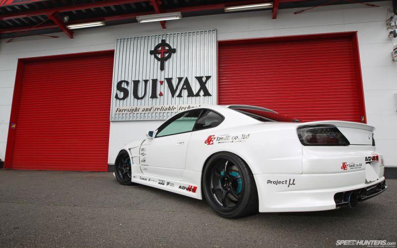 Nissan Silvia tuning d wallpaper