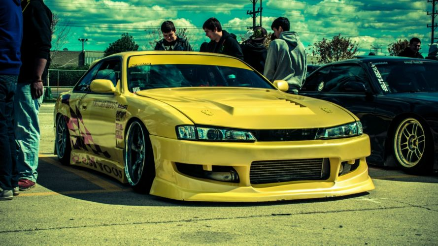 Nissan Silvia tuning wallpaper