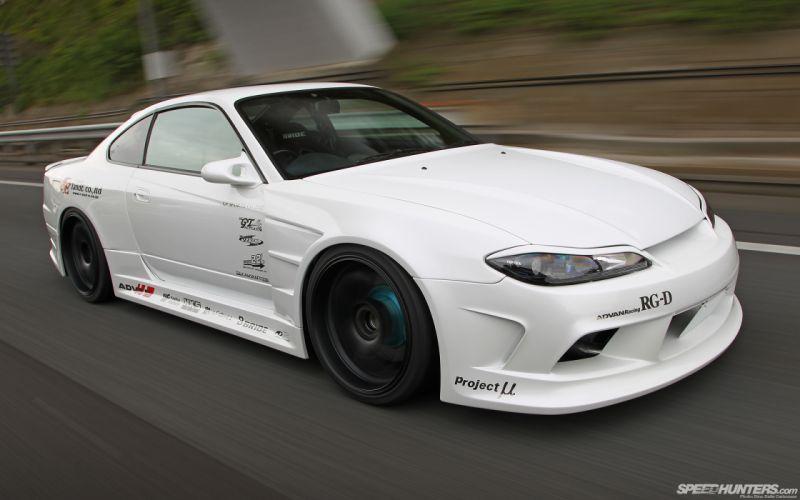 Nissan Silvia Motion Blur tuning f wallpaper