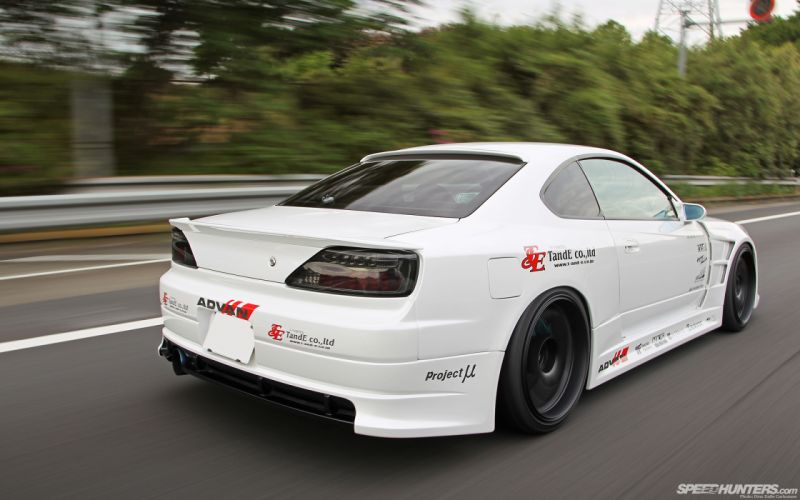 Nissan Silvia Motion Blur tuning wallpaper