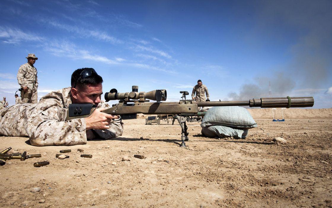 Soldier Rifle Sniper wallpaper