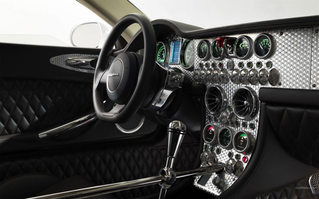 Spyker Interior supercars wallpaper