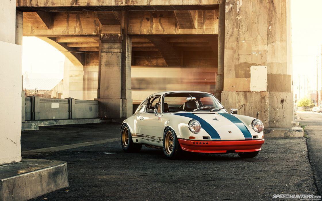 Porsche 911 Overpass     d wallpaper