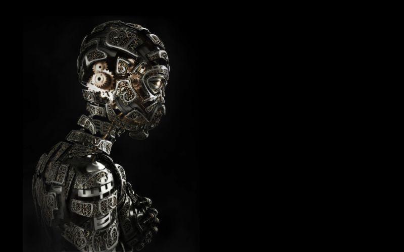 Robot Gears wallpaper