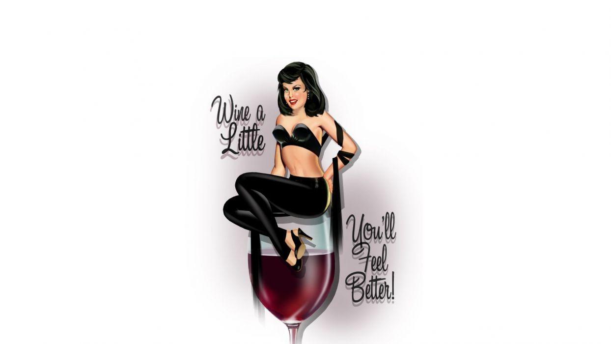 Wine Alcohol White wallpaper