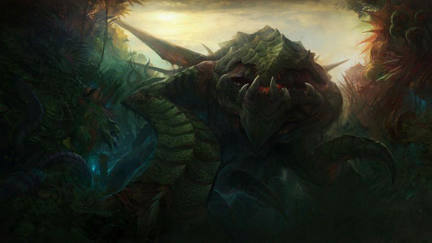 StarCraft Monster Drawing fantasy wallpaper