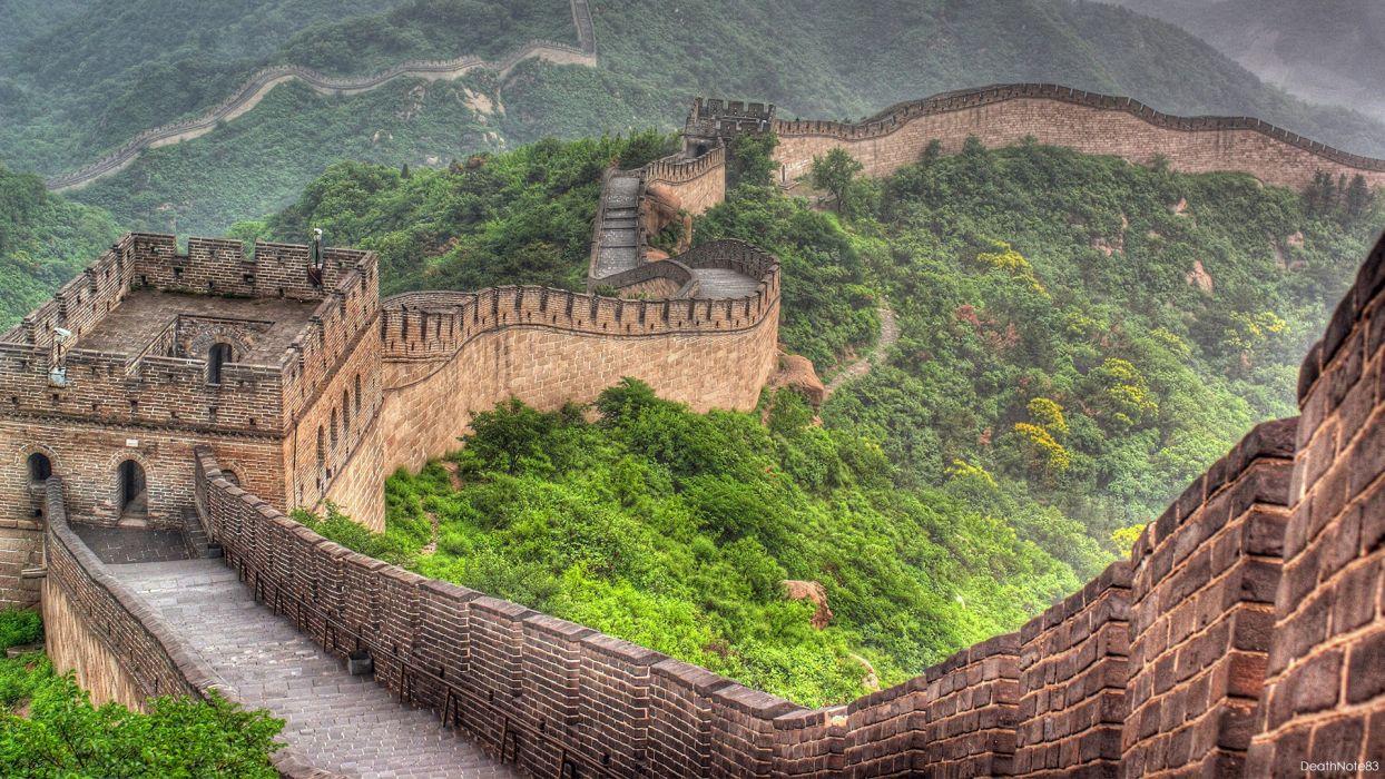 The Great Wall of China China Wall wallpaper