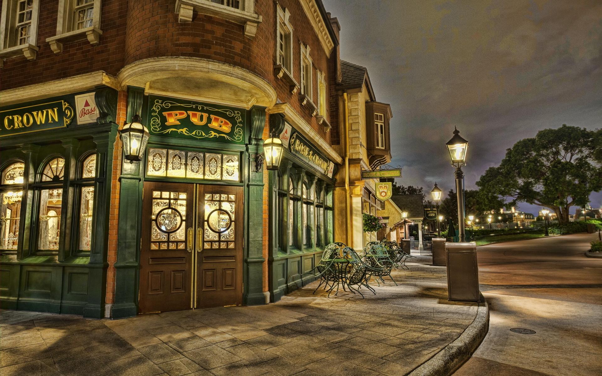 Corner Cafe Disneyland