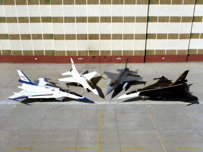 aircraft NASA fleet wallpaper