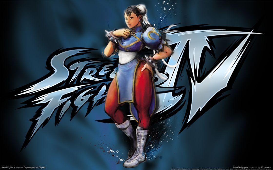video games Street Fighter IV Chun-Li wallpaper