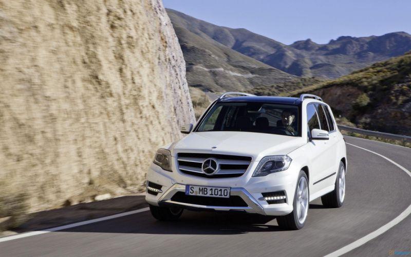 cars Mercedes-Benz class Mercedes-Benz GLK-Class wallpaper