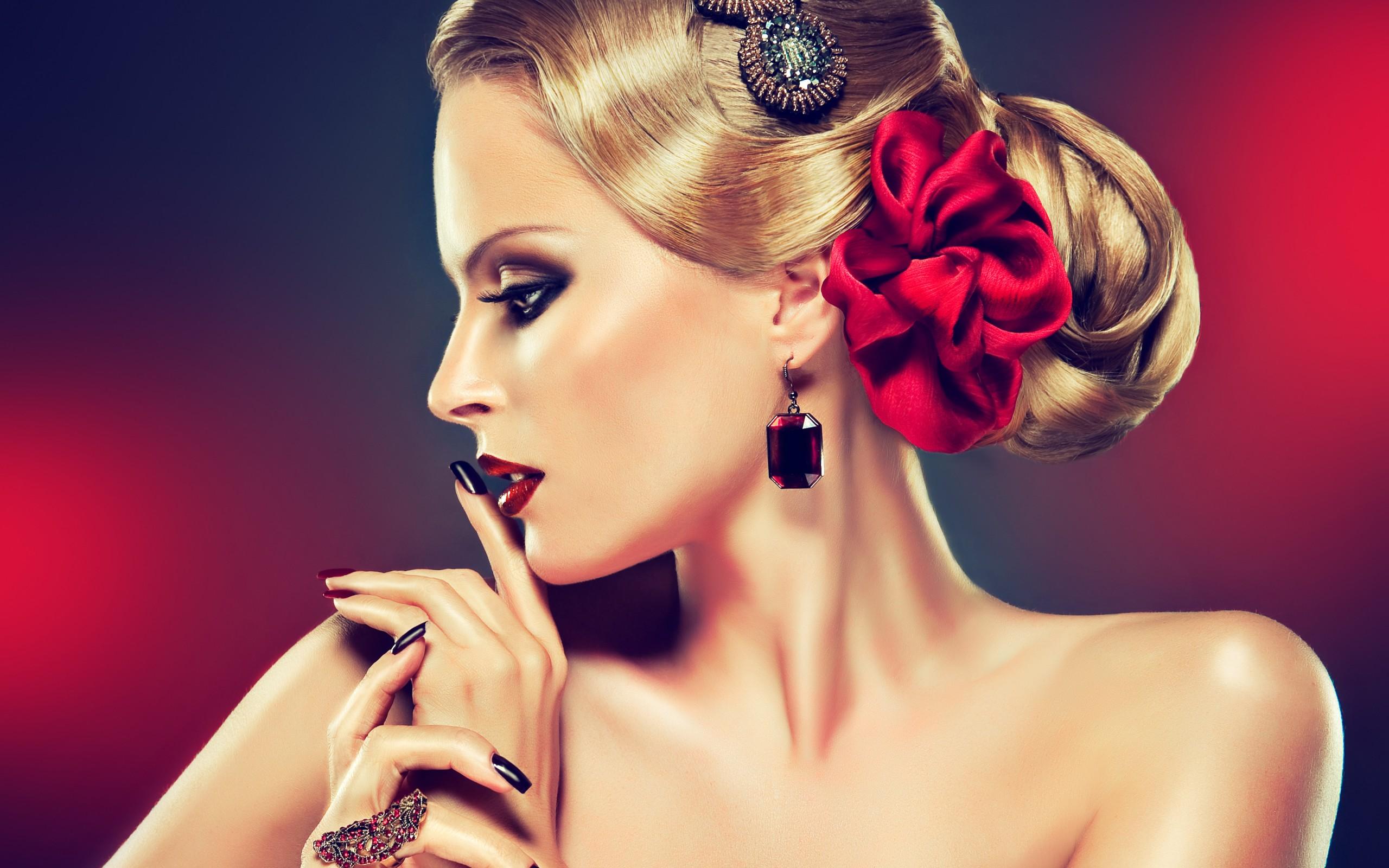 beauty woman wallpaper   2560x1600   65185   wallpaperup