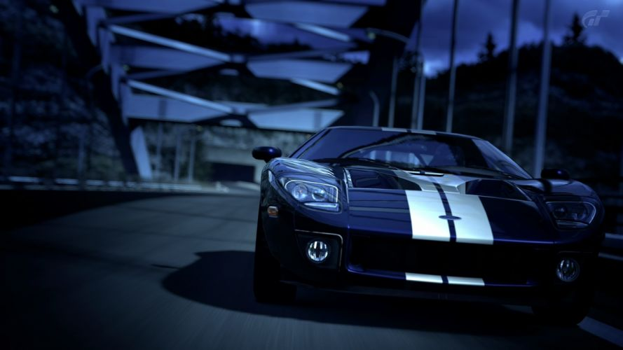 video games cars Ford GT Gran Turismo 5 PS3 wallpaper