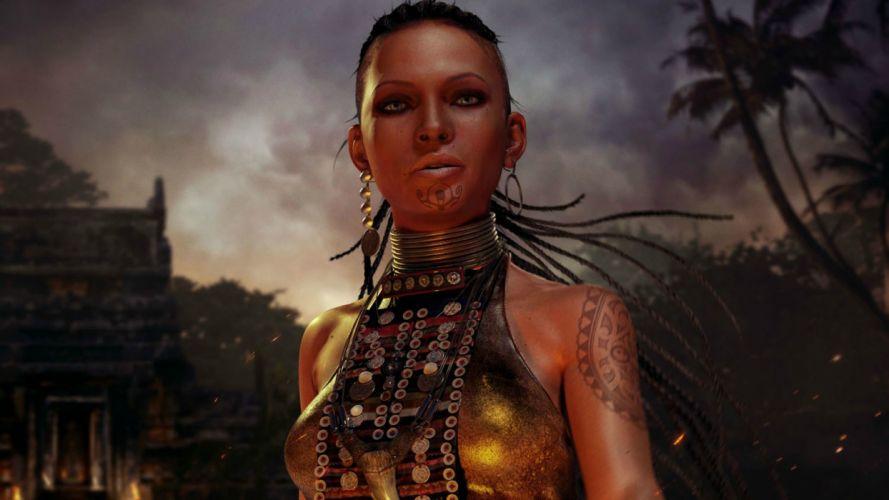 video games Far Cry 3 Citra Talugmai wallpaper