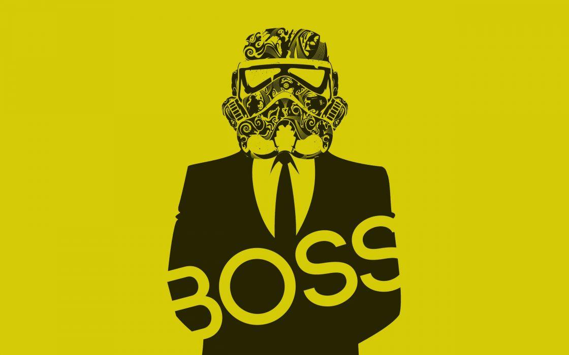 Star Wars stormtroopers boss wallpaper
