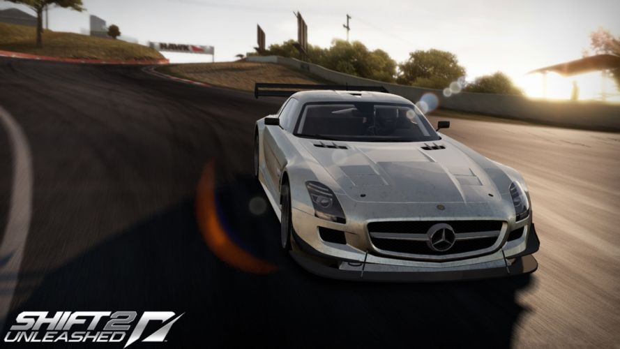 video games cars games Need For Speed Shift 2: Unleashed Mercedes-Benz pc games wallpaper