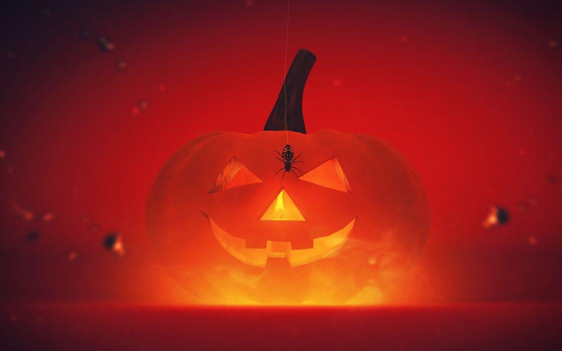 pumpkins lacza happy halloween wallpaper