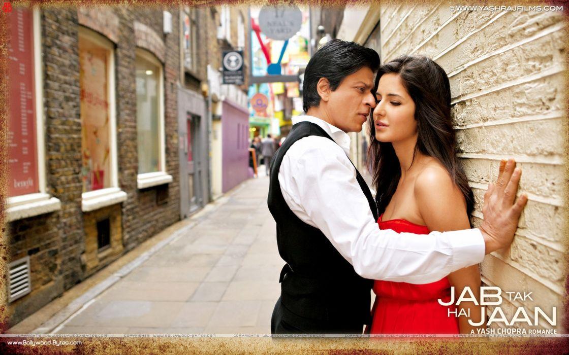 Katrina Kaif Bollywood posters Shahrukh Khan movie stills Jab Tak Hai Jaan  stills wallpaper