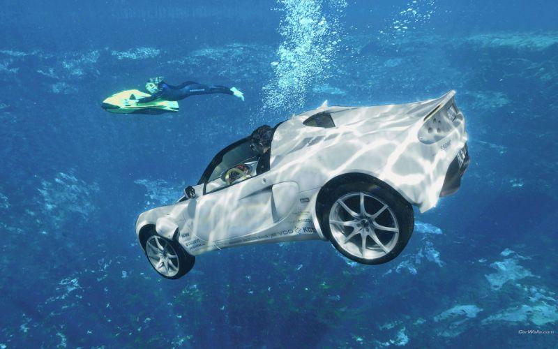 water cars Lotus 7 wallpaper