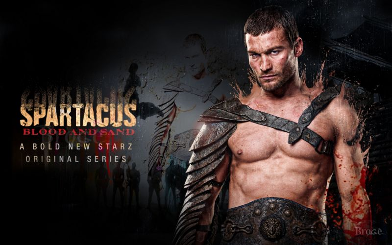 Spartacus Spartacus: Blood and Sand Andy Whitfield wallpaper
