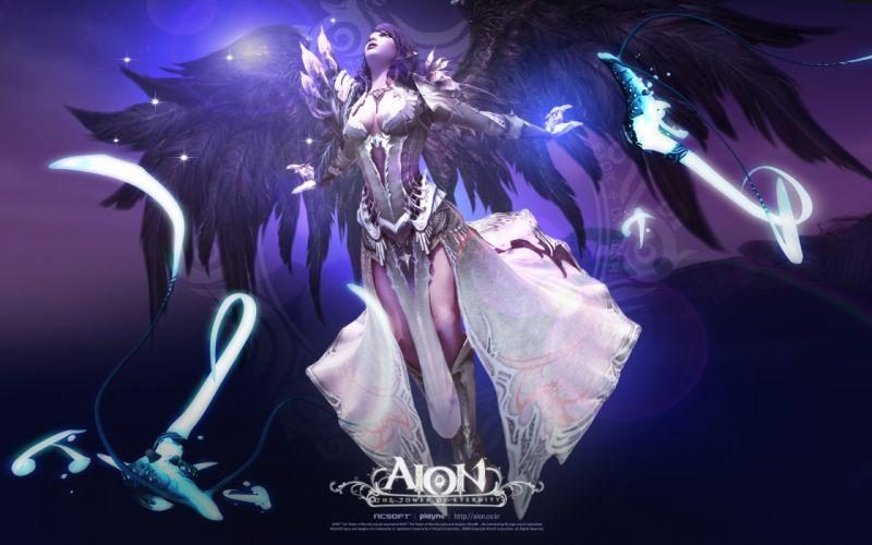 angels video games Aion wallpaper
